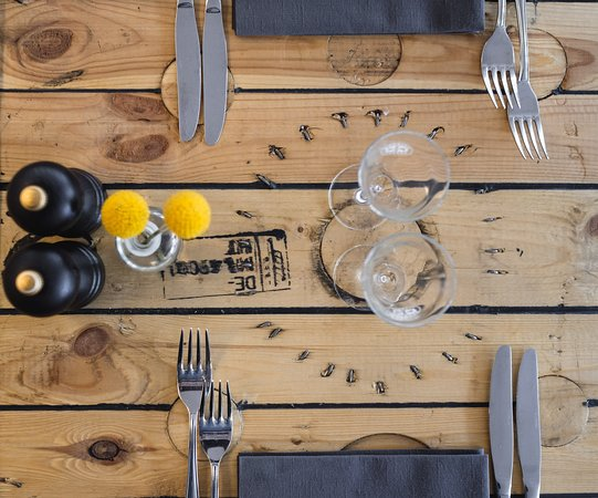 Restaurant 1733: Borddækning