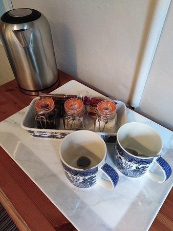 Tea and coffee :)
