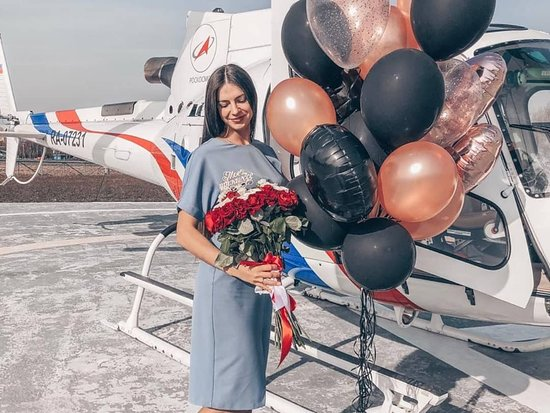 Vladivostok City Helicopter Flight