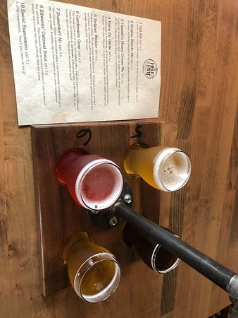 Waseca, MN: Sample a flight...take a growler to go!