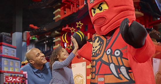Auburn Hills, MI: Meet your favorite LEGO® characters like Kai the fire ninja!