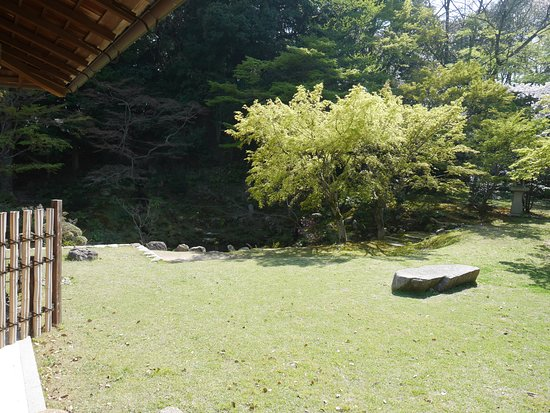 Chofu Mori Residence: 毛利邸内の庭園