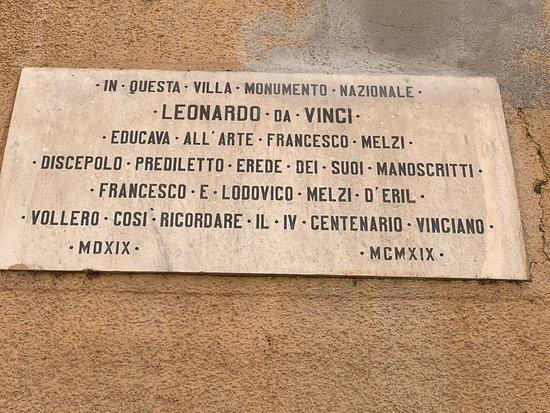Leonardo e il suo allievo Francesco Melzi