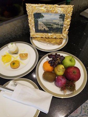 Palatial ambiance and service