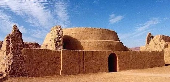 Turpan, China: the ancient city of gaochang . the one which is known as the center of the silk road and but now destroyed alot ... but still a glistering star in the world history