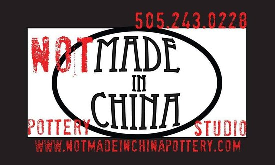 Not Made in China Pottery Studio