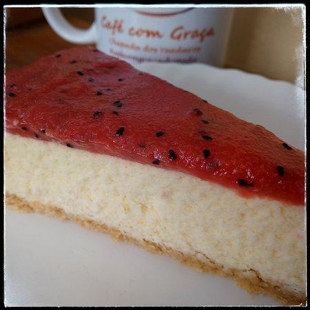 Cafe com Graca: Cheesecake lowcarb de goiaba