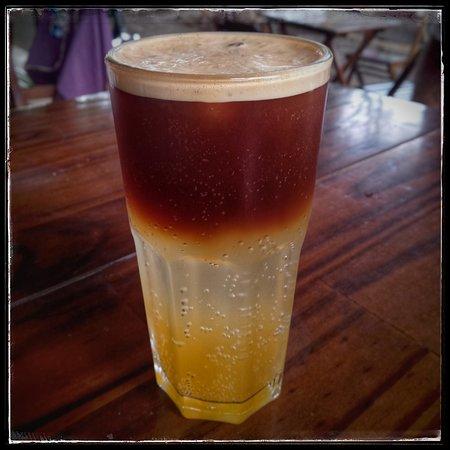 Cafe com Graca: Espresso tangerina (soda italiana com espresso)