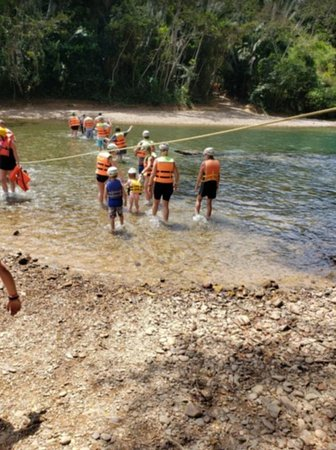 Cave Tubing and Zipline from Belize City: 3 river crossings