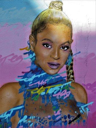 """Fresque """"Beyoncé"""""""