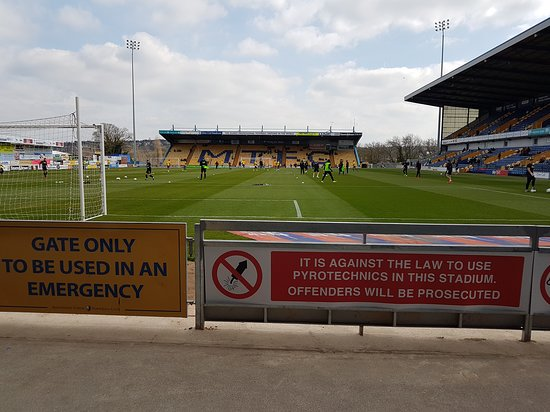 Mansfield, UK: View from seat