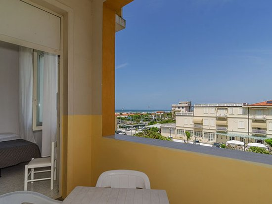 Marina di Pietrasanta, Italien: Vista da una camera View from a room