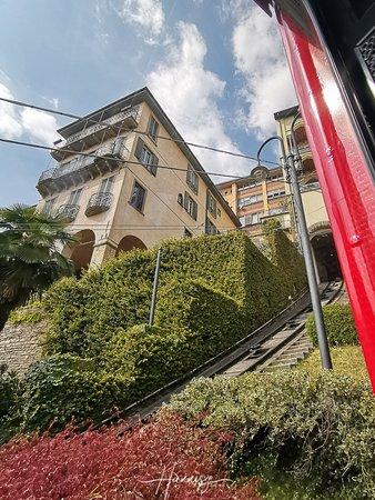 Furnicular to La Citta Alta