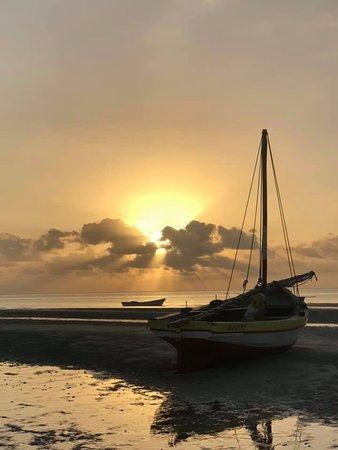 Sunrise from Luke's Place - Vilanculos