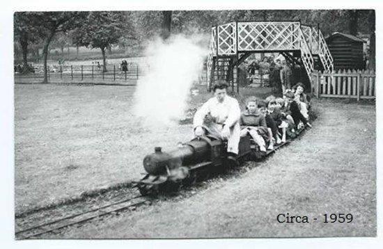 Strathaven Miniature  Railway: taken around 1958/59