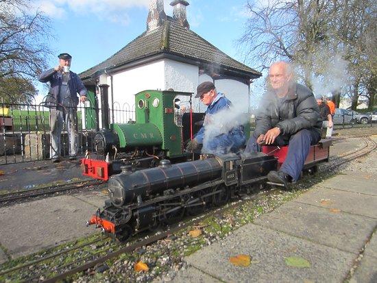 Strathaven Miniature  Railway: Tea and steam