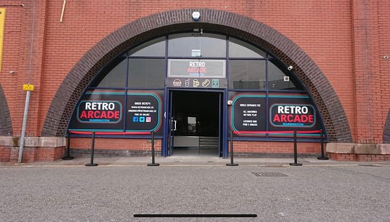 Retro Arcade Warrington