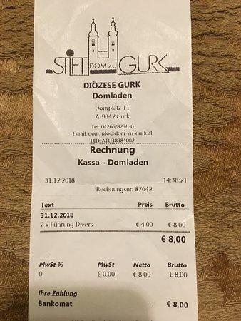 Gurk, Αυστρία: Biglietto