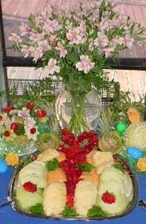 Gordonville, เท็กซัส: Easter Buffet Arrangement