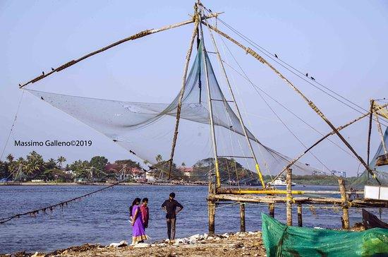 Le reti da pesca cinesi