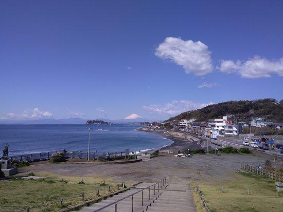 鎌倉海浜公園稲村ガ崎地区, 広いですよ