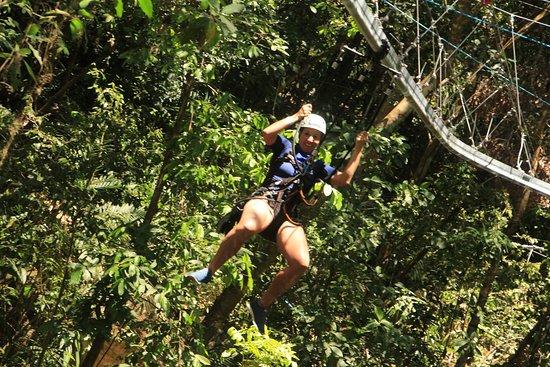 Tirolesa de aventura ao ar livre em Puerto Vallarta e passeio de lancha: Rollercoaster zipline!!