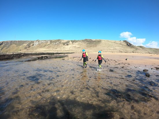 The best coasteering adventure in Scotland with Intrepidus Outdoors in Edinburgh