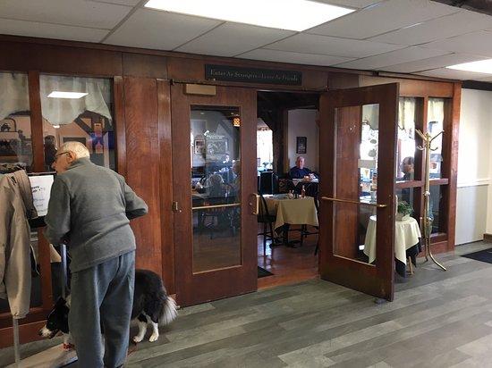 Lumberton, NJ: Café Entrance