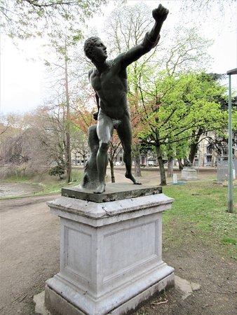 Statue Gladiateur Borghèse