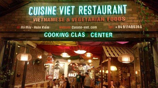 Exterior Picture Of Cuisine Viet Restaurant Hanoi Tripadvisor