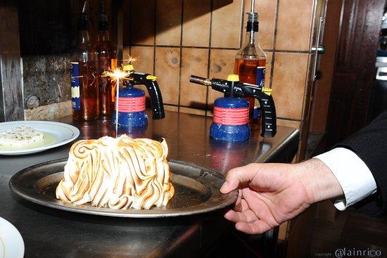 Brasserie Georges: omelette norvegienne