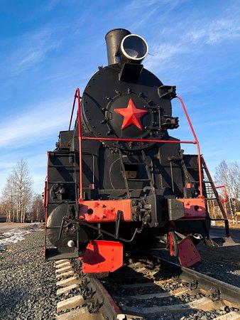 Sortavala, รัสเซีย: Памятник паровозу Эр 788-81