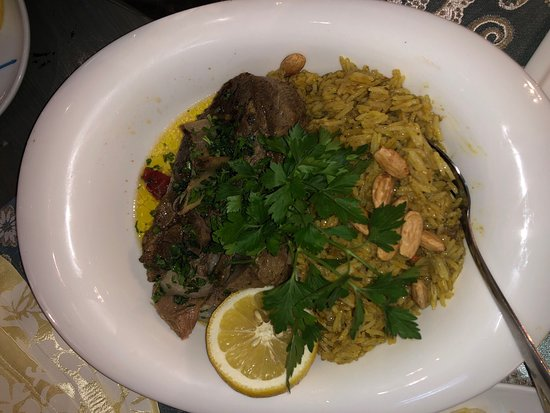 Superb Lebanese food