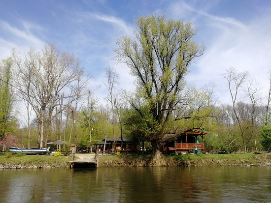 Tinek's Ferry on the Mura River