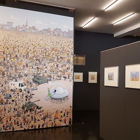 """Ausstellung """"Fernandez - Gegen den Strich"""" (2019)"""