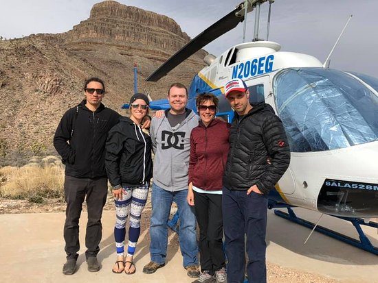 Www.wildwesthelicopters.com - another great tour of the Grand Canyon West Rim. ! Merci!