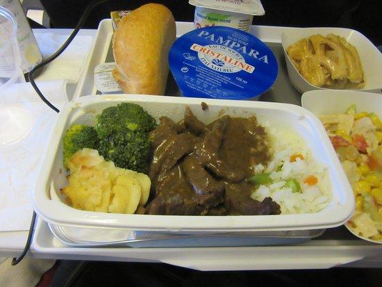 Air France: Beef satay 6/3/18