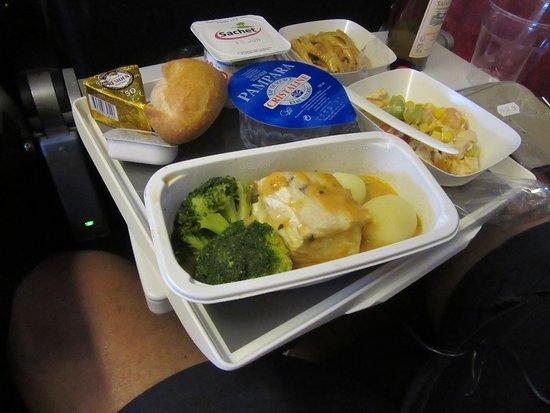 Air France: Yellow fin tuna 6/3/18