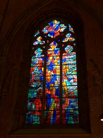 Bremen, Church of our Lady, Manessier stained glass window