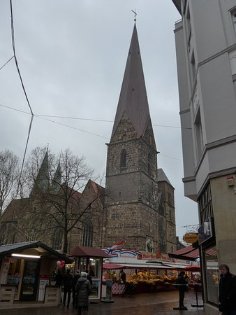 Bremen, view on the Church of our Lady