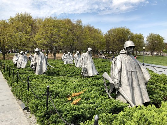 Het Korean War Veterans Memorial