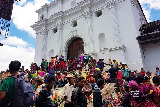 Woman in Santa Cruz Del Quiche