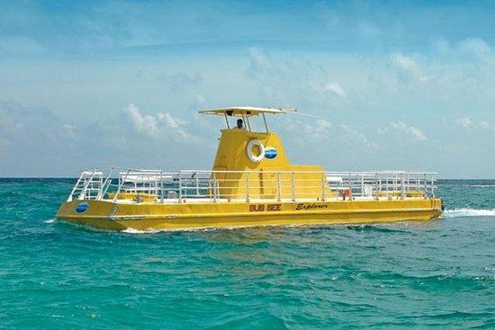 Tour en sous-marin à Cancun et...