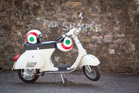 佛罗伦萨Vespa之旅:托斯卡纳山和意大利美食