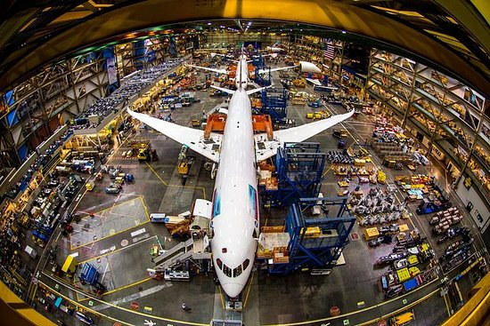 Boeing Factory Tour fra Seattle