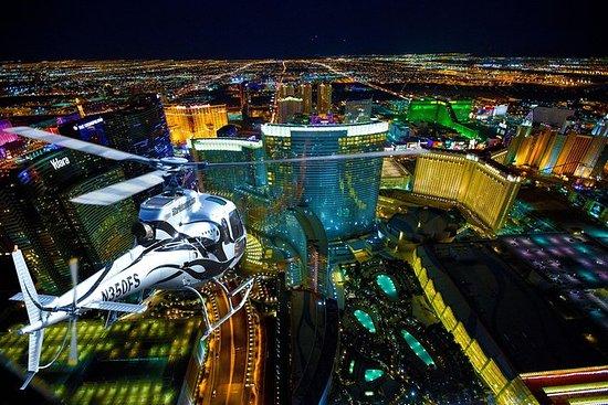 Vuelo en helicóptero nocturno a Las...