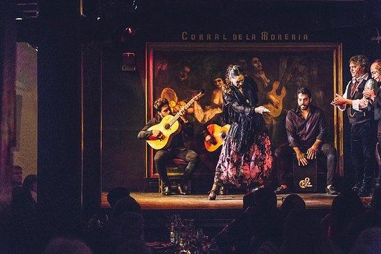 弗拉門戈表演在馬德里Corral delaMorería