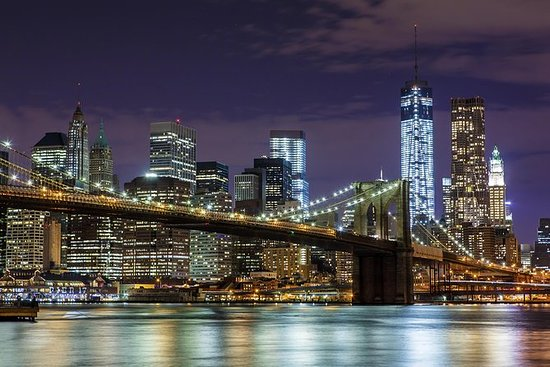 Visite nocturne de New York en bus