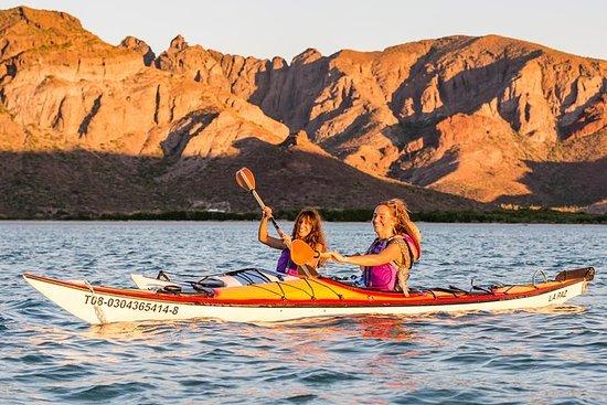 Kayak en el mar de Cortés desde Todos...