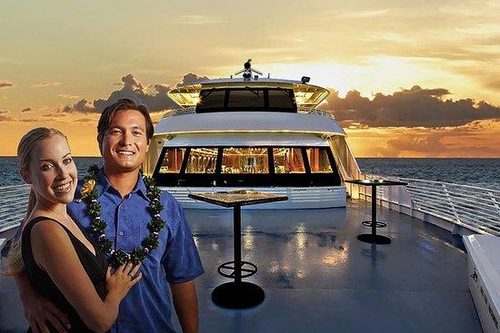 Crucero con cena al atardecer en Oahu...